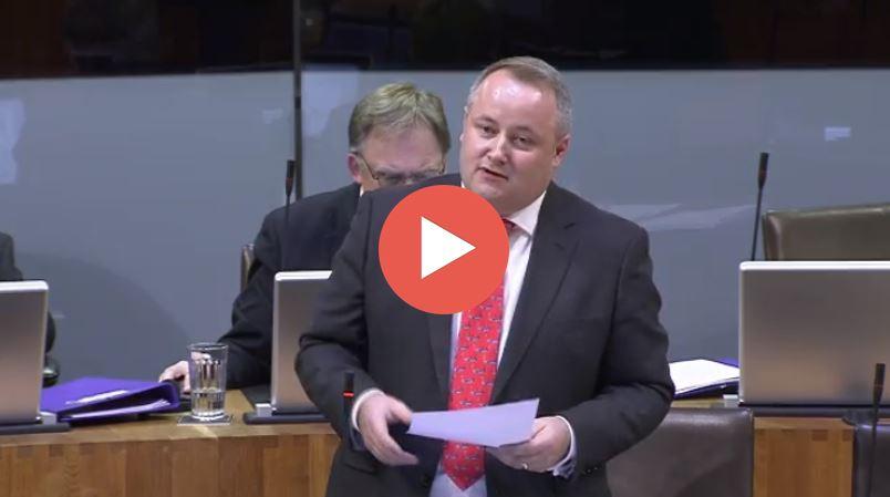 Darren Millar AM, plenary 09 October